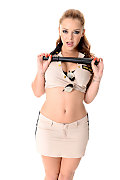 Liza Del Sierra Strip Search istripper model