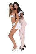 Kitty Jane & Christina Jolie Duo istripper model