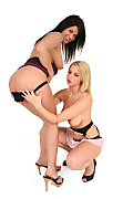 Jordan & Ewe Sweet Duo istripper model